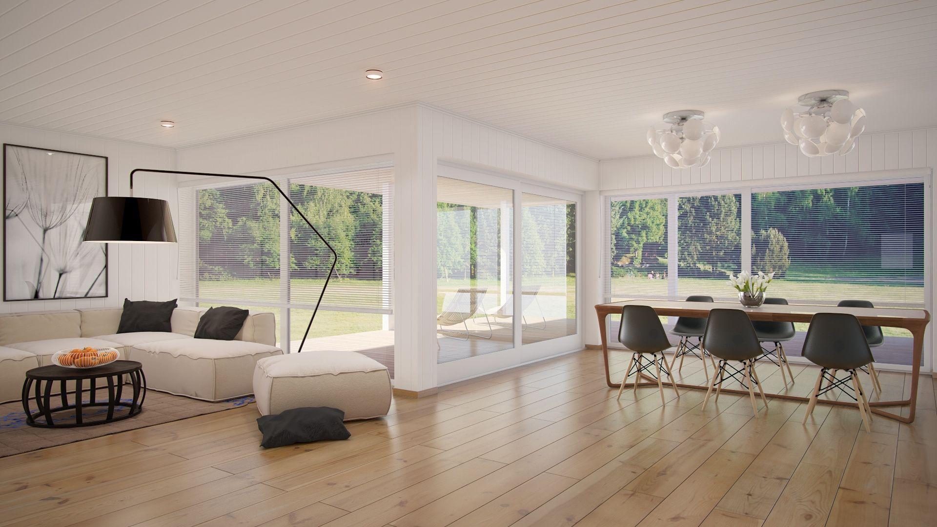 Open Plan Kitchen Dining Living Room Modern Sunroom Google