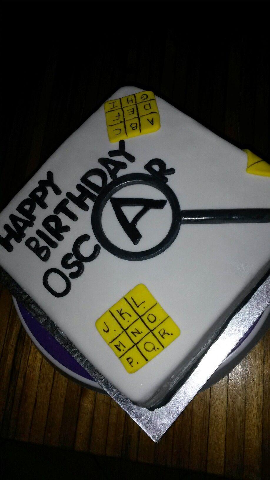 Escape Room Cake Selfies Pinterest Cake Birthdays
