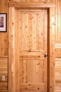 cedar interior doors - Google Search   cottage   Pinterest ...