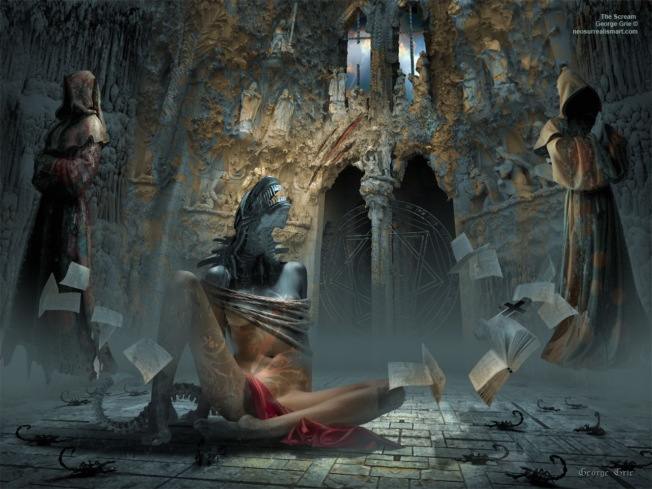 Fall Graveyard Cemetery Wallpaper Initially The Movement Focused On Relating Surrealism