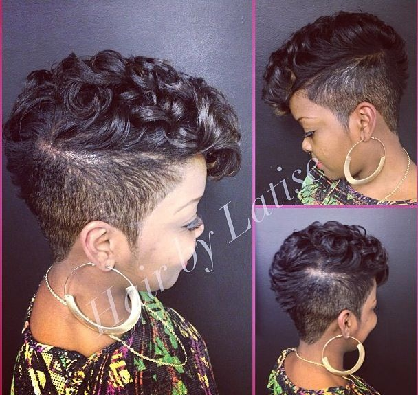 Short Curly Shaved Hairstyles Google Search Peinado