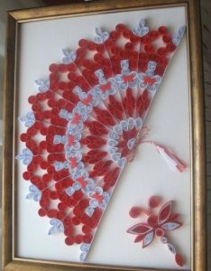 Unknown artist so beautiful also stranamasterov name of is written below quilling fans rh pinterest