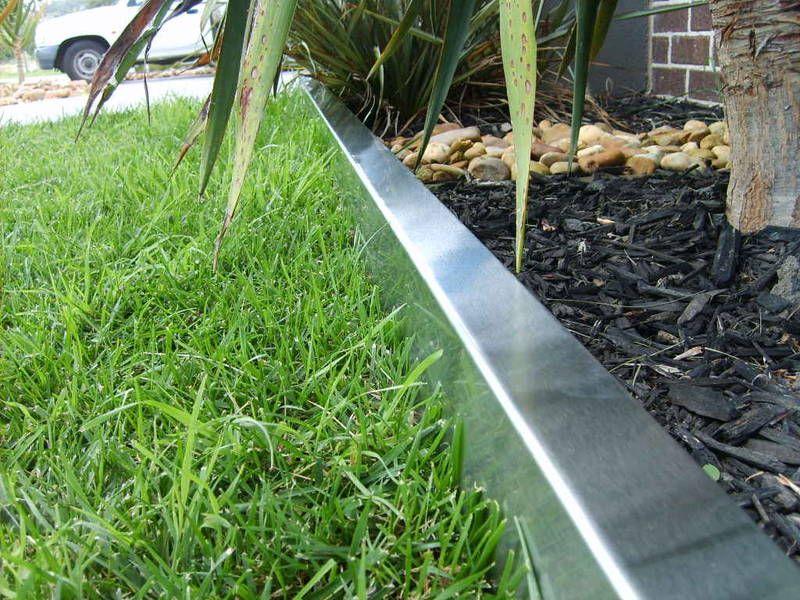 Steel Lawn Edging Landscape Design Lesvertspaysdelaloire Org