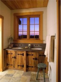 Country/Rustic (Country) Bathroom by Jessica Helgerson ...