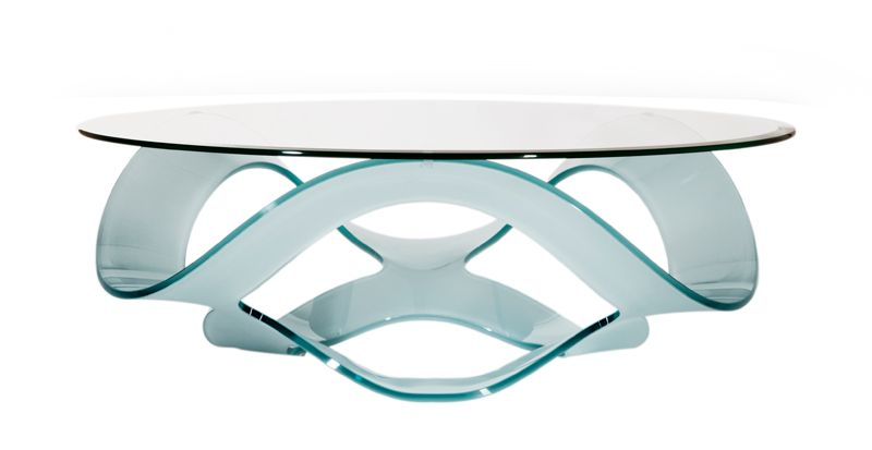 Table Basse Design Marabella Verre Trempe