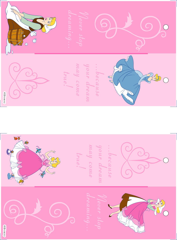 Disney Printable Bookmarks
