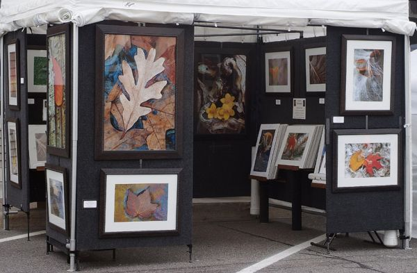 Art Show Display Booth