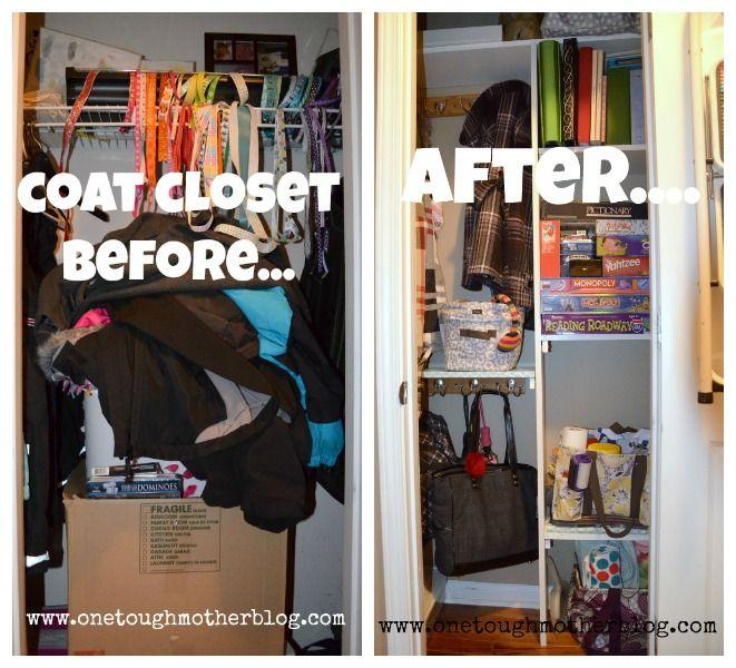 Best 25 Coat closet makeovers ideas on Pinterest  Coat closet organization Hall closet