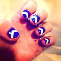 Super easy nail art and super cute too:)   Nails ...