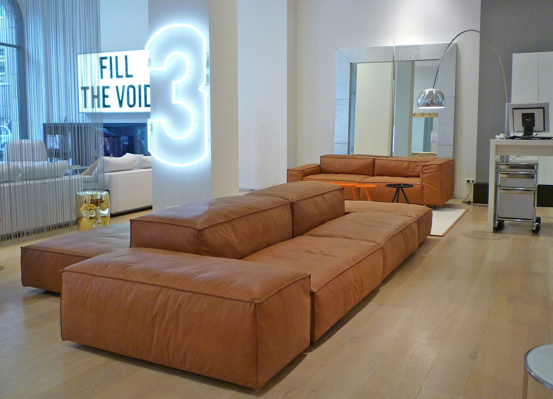 fulham sofa rh bett kennedy extrasoft design piero lissoni in a beautiful