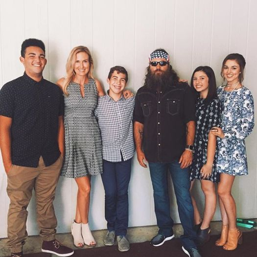 Image result for robertson family rowdy