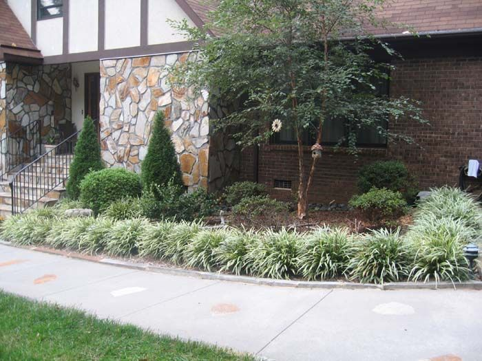 Low Maintenance Front Yard Landscaping Landscaping Greenville