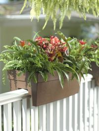 Deck Railing Planter for 2x4 or 2x6 Railings | Beach House ...