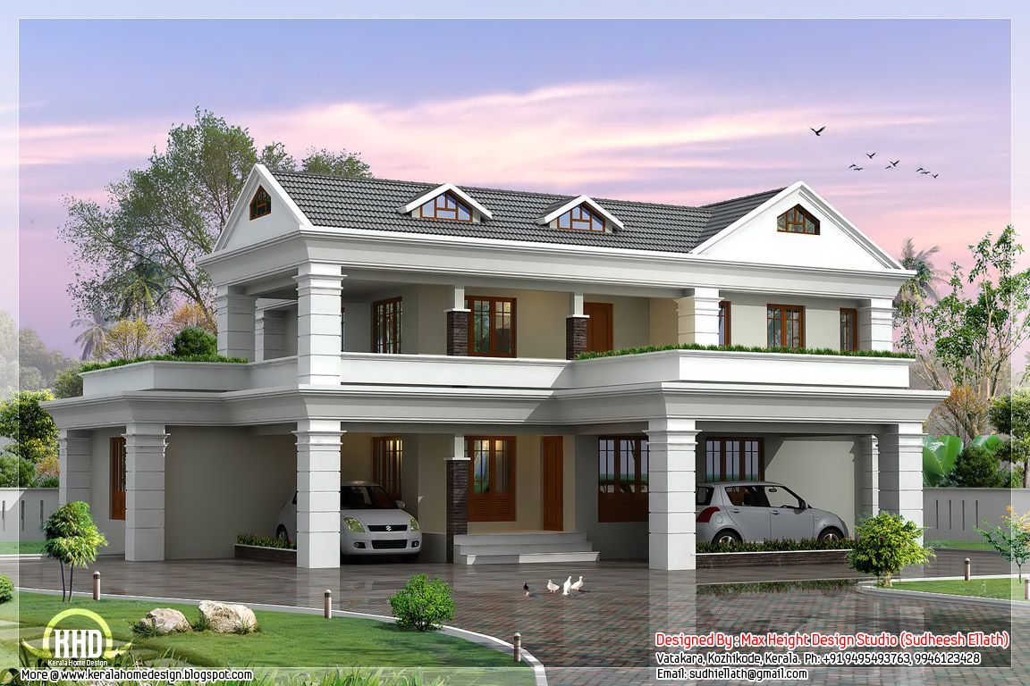 Facilities And Sq Ft Details Kerala 2 Storey Contemporary Low