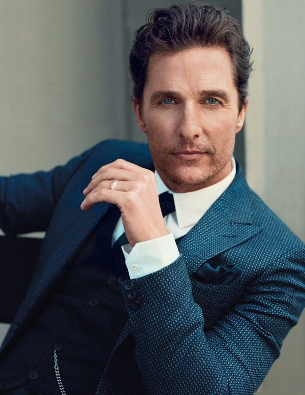 Matthew Mcconaughey Para Gq Uk Diciembre 2014 Por Norman Jean Roy And