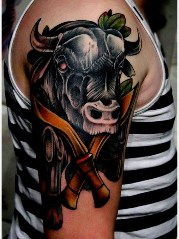 20 Cosmo Taurus Tattoos Ideas And Designs