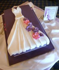 SophistiCakes | Bridal Shower Wedding-Dress Cake ...