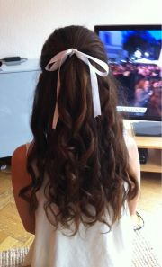 pretty hairstyles with ribbons