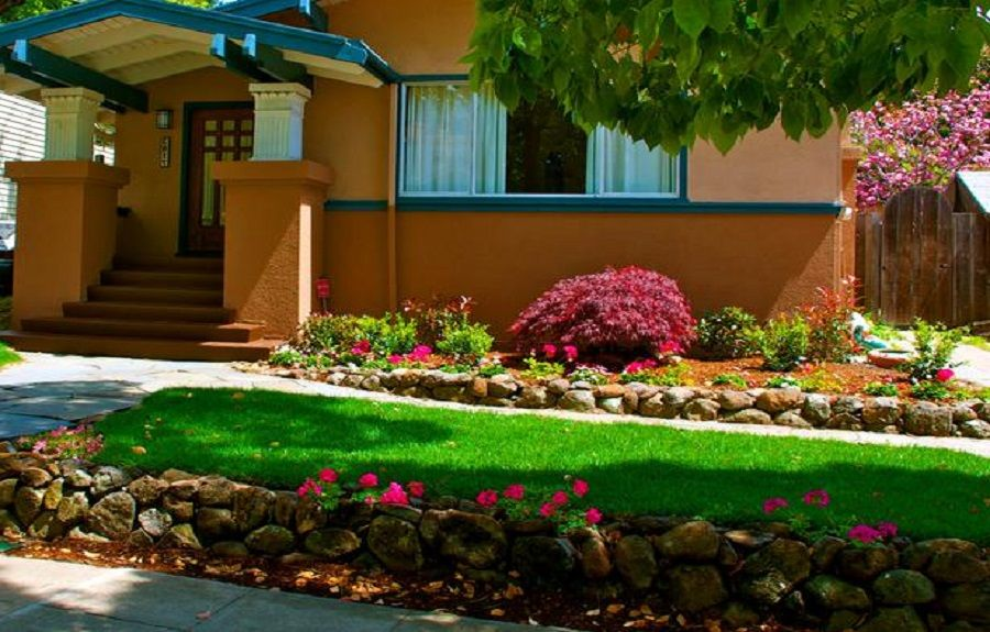 Landscaping Ideas For Front Of House Shade Lanewstalk Com