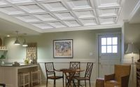 Easy Elegance Ceilings by Armstrong Coffered ceiling tiles