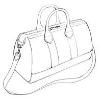 fashion designers drawings of handbags - Google Search ...