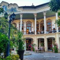 Shapouri Mansion & Garden, Shiraz, Iran (Persian:   ...