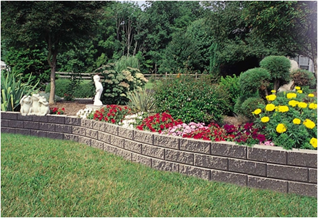 Slope Landscaping With Stone Bg Landscape & Retaining Wall