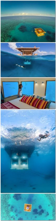Manta Underwater Hotel Room In Zanzibar Travel