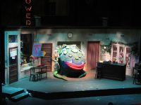 Little Shop of Horrors set by Melissa Shaffer. Production ...