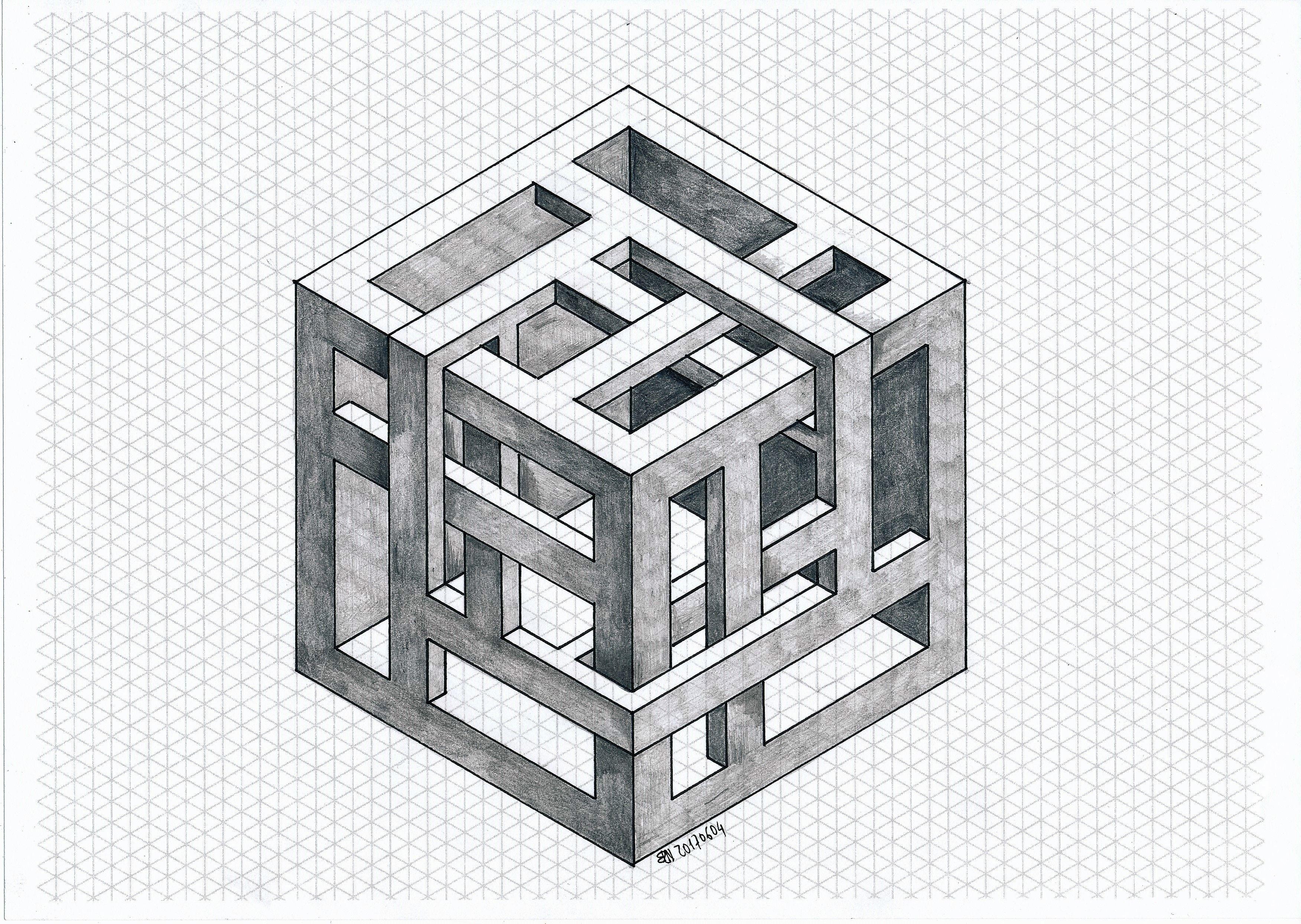 #impossible #isometric #geometry #symmetry #penrose #