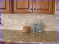 limestone subway tile backsplash images | tumbled marble ...