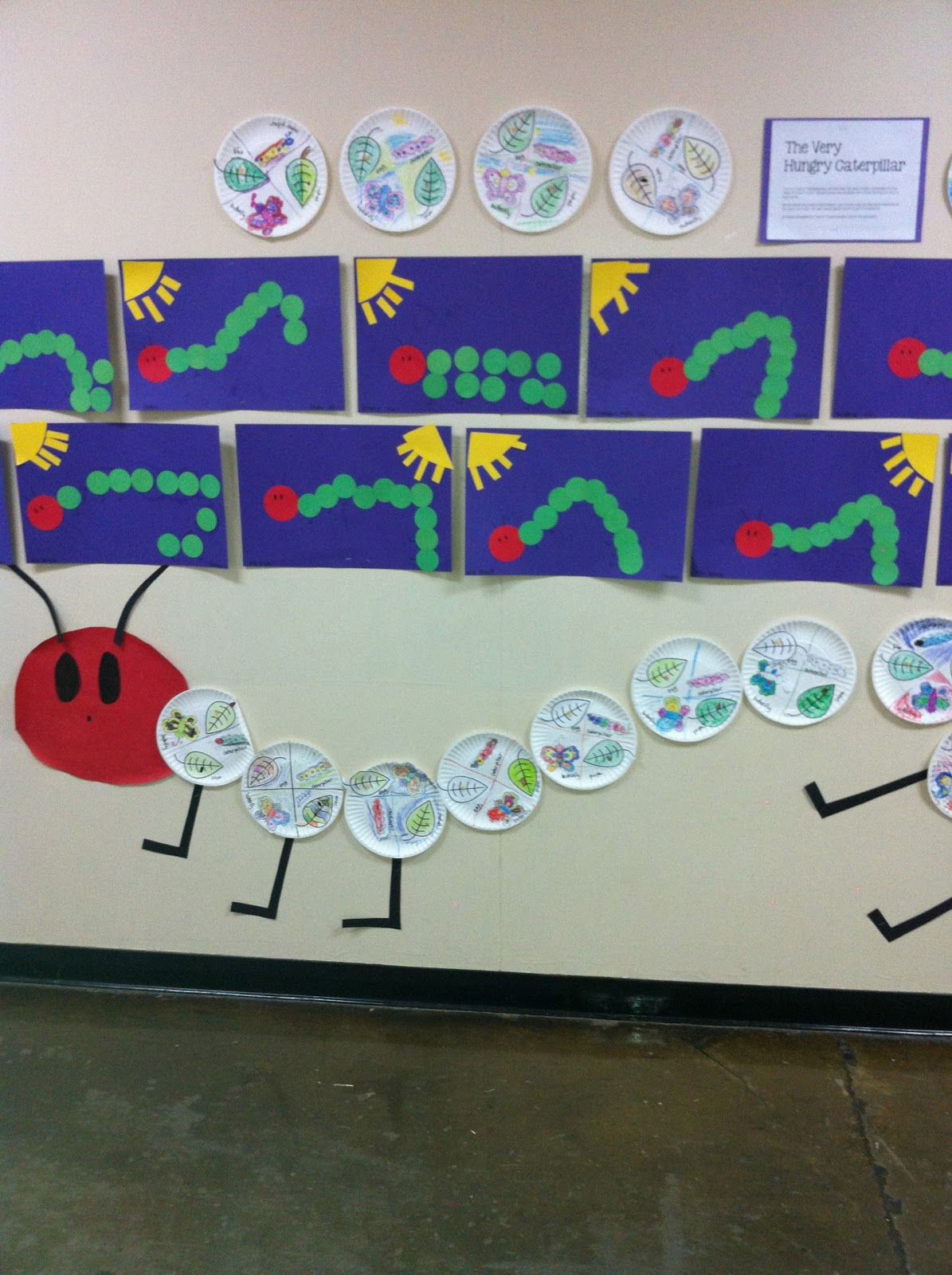 Library Learners Hungry Caterpillar Activity