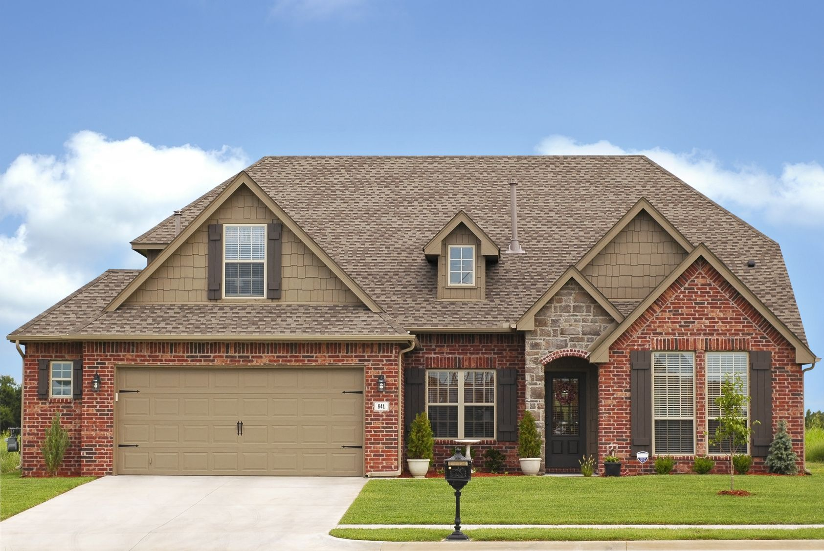 Two Story Brick House Designs 430 Two Story Brick House Design