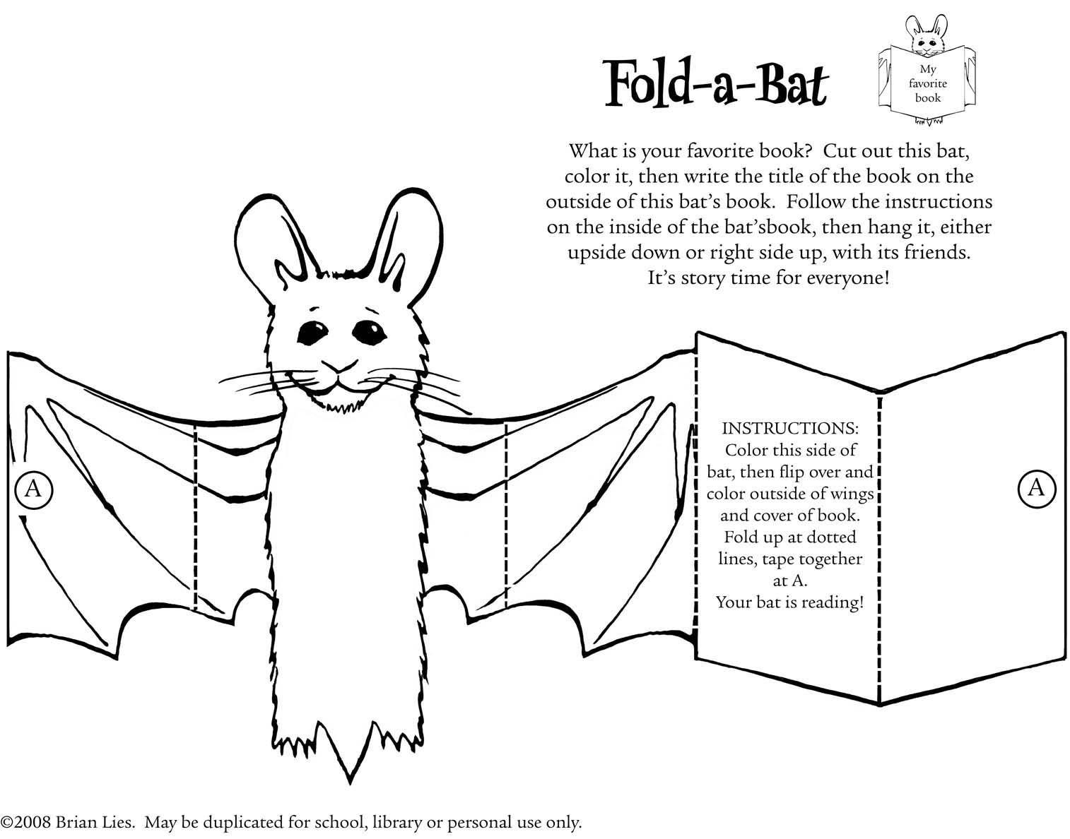 Fold Reading Bat