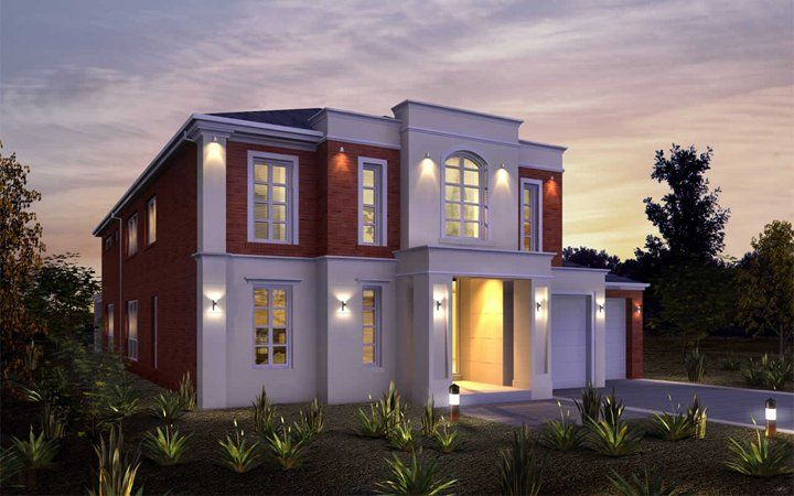 Metricon Home Designs The Imperial Provincial Facade Visit