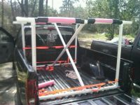 Homemade Wooden Kayak Rack For Truck  Homemade Ftempo