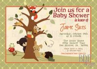Echo Forest Baby Shower Package- Custom Listing for ...