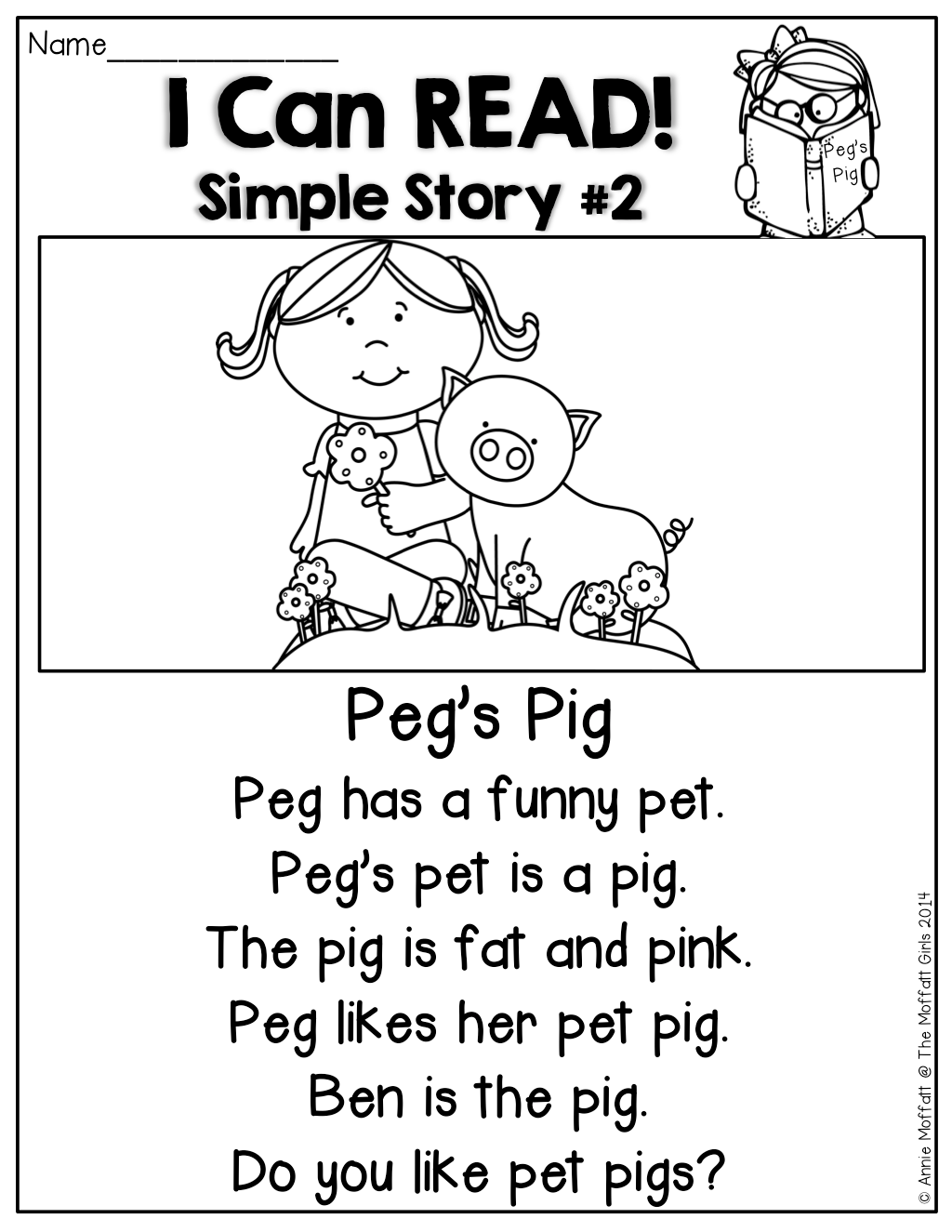 Simple Stories Made Of Sight Words And Cvc Words That Kids Can Read Perfect For Working On