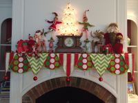 Christmas mantle scarf by Sharpe Designs | Holiday ...