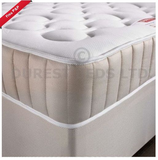Mattress Cosy 25cm 10 Memory Foam Sprung 3ft