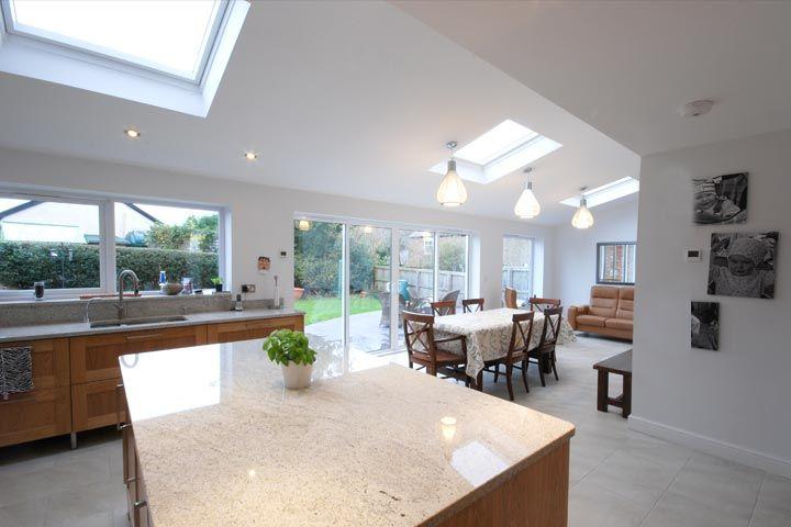 Single Storey Rear Family Room Extension Building Regulations