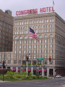 Haunted Congress Hotel Chicago