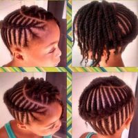 African Braided Cornrow Hairstyles For Little Girl ...