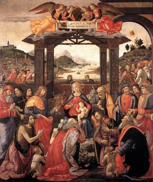 Ghirlandaio Adoration of the Magi