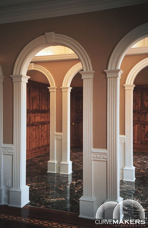 Interior archway kits for Prefab interior arches