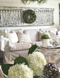 Awesome farmhouse living room decor ideas also rh pinterest
