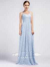 Long Sweetheart Lace Bridesmaid Dresses with Keyhole Back ...