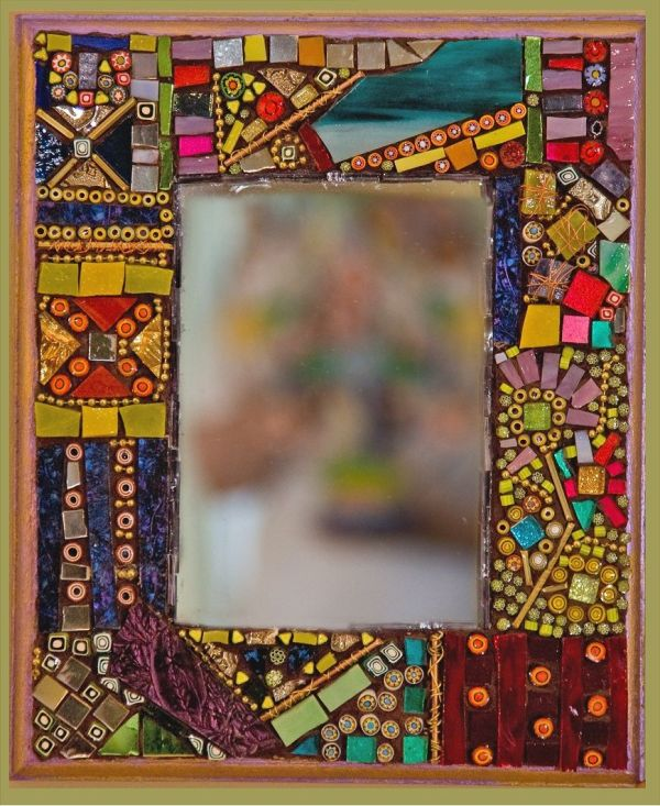 Handmade Mosaic And Dichroic Glass Art Jewelry X 1063 471.4 Kb