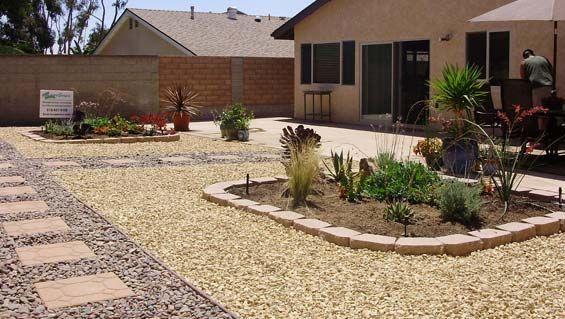 crushed granite in landscaping