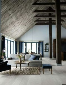 The amazing home of danish photographer mikkel adsb   nordicdesign  love beams also pin by patchedpieces on house ideas pinterest future rh